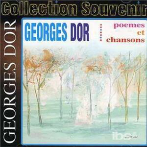 Poemes Et Chansons - CD Audio di Georges Dor