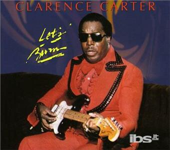 Let's Burn - CD Audio di Clarence Carter