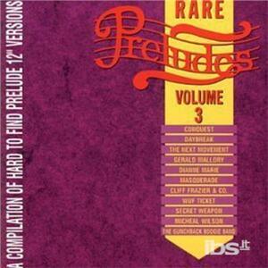 Rare Preludes vol.3 - CD Audio
