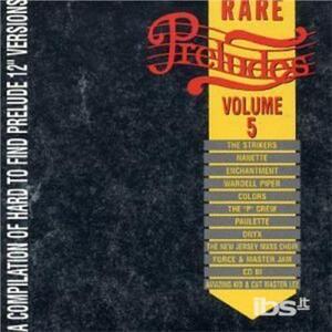 Rare Preludes vol.5 - CD Audio