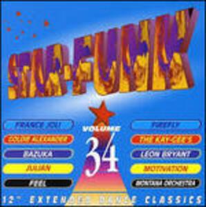 Star Funk vol.34 - CD Audio