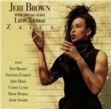 Zaius - CD Audio di Jeri Brown,Leon Thomas