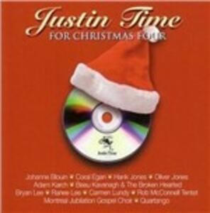 Justine Time. For Christmas Four - CD Audio