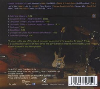 Jerusalem Trilogy - CD Audio di Matt Herskowitz - 2