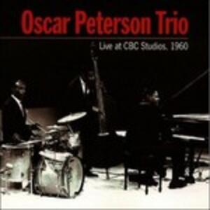 Live at Cbc Studios 1960 - CD Audio di Oscar Peterson