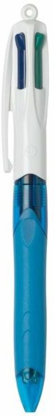 Penna a sfera Bic 4 Colours grip. 4 colori di scrittura punta 1 mm