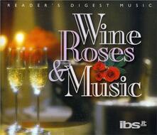 Wine Roses & Music - CD Audio