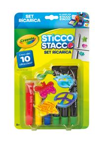 Giocattolo Ricarica Sticco Stacco Crayola 0