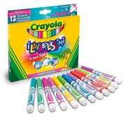 Giocattolo Lavabilissimi12 Pennarelli Punta Maxi Colori Tropicali Ultra Lavabili Crayola
