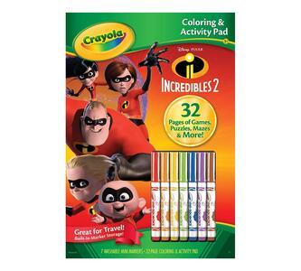 Album Attività & Coloring Disney Gli Incredibili 2 - 3