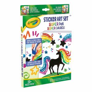 Super Pen Sticker Art Set - 6