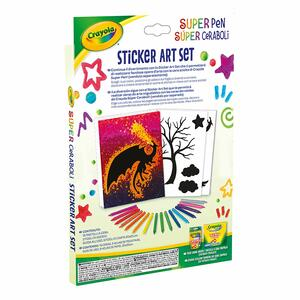 Super Pen Sticker Art Set - 7