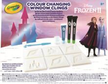 Crayola 23-0700. Frozen 2. Set Attacchini Cambia Colore