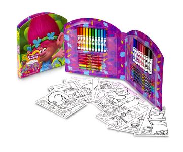 Giocattolo Valigetta Creativa Trolls Crayola 1