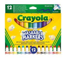 Crayola 58-8340. 12 Pennarelli Punta Maxi Lavabili