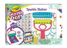 Glitter Dots. Sparkle Station