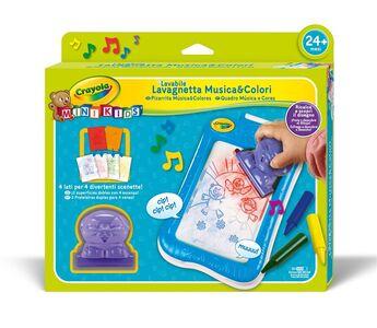 Giocattolo Lavagnetta Musica & Colori Crayola 0
