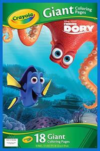 Maxi Pagine da Colorare Disney Dory - 2