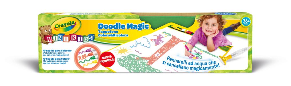 Giocattolo Doodle Magic. Tappetone colora e ricolora Crayola 1