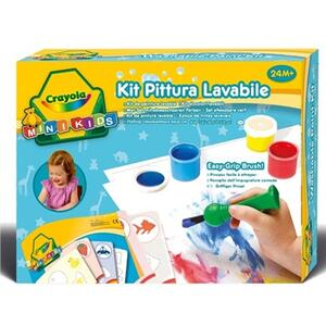 Kit pittura lavabile Mini Kids - 3