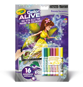 Cartoleria Color Alive. Foresta Incantata Crayola 0