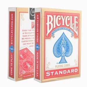 Bicycle. Mazzo Regolare Formato Poker Blu - 2