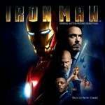 Cover CD Colonna sonora Iron Man