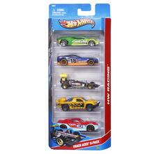 Mattel Hot Wheels 5 veicoli assortiti