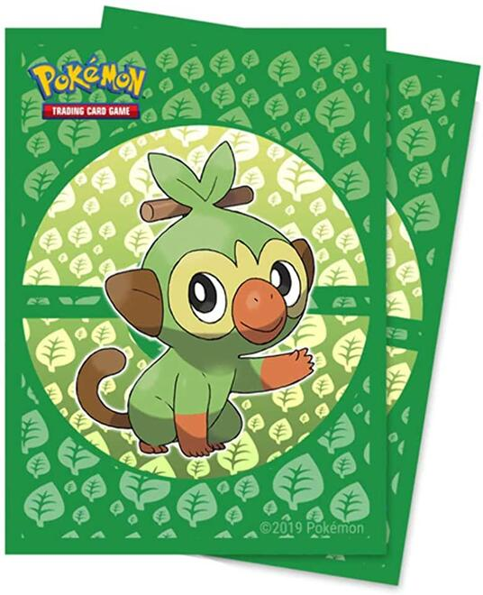 Deck Protectors Sleeves. Pokemon. Sword and Shield Galar Starters Grookey. 65 Pz (E-15360) - 2