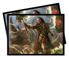 Standard Sleeves. Magic the Gathering. Commander 2019 V4. 100pz (E-18134)