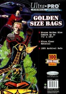Golden Size 7-3/4 X 10-1/2 Comic Bags (E-81977)