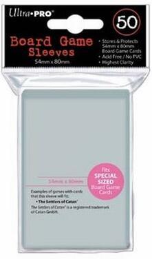 (54x80) Board Game Sleeves. 50 pz (E-82915)