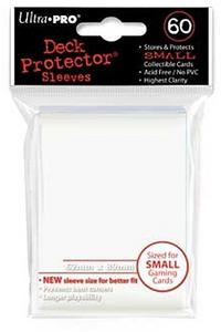 Giocattolo Bustine Mini Bianco 60 pezzi Ultra-Pro 0