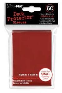Giocattolo Bustine Mini Rosso 60 pezzi Ultra-Pro