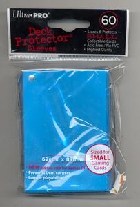 Giocattolo Bustine Mini Blu Chiaro 60 pezzi Ultra-Pro 0