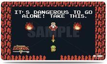 Playmat With Playmat Tube. Legend of Zelda Dangerous (E-85440)