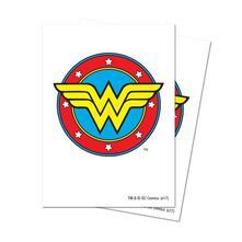 Deck Protectors Sleeves. Justice League. Wonder Woman. 65 Pz (E-85519)