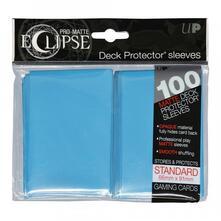 Standard Sleeves. PRO-Matte Eclipse. Sky Blue (100 Sleeves) (E-85603)