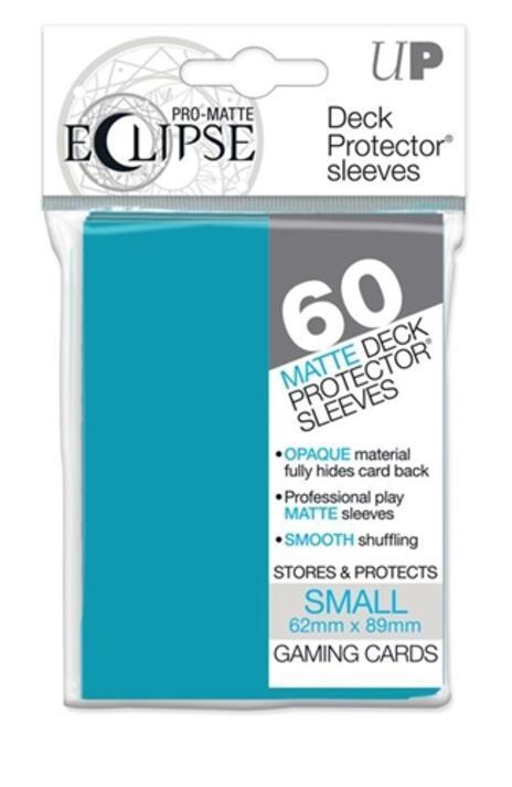 PRO-Matte Eclipse Sky Blue Small Size (60 bustine protettive) - 2