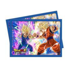Sleeves Standard. Dragon Ball Super. Vegeta VS Goku. 65pz (E-85978)