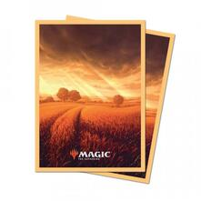 Magic the Gathering. Unstable Lands Sleeves. Plain (E-86814)