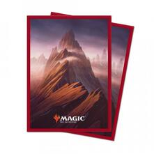 Magic the Gathering. Unstable Lands Sleeves. Mountain (E-86817)