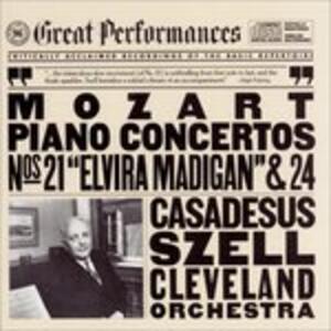 Concerti per Pianoforte 21 & 24 - CD Audio di Wolfgang Amadeus Mozart