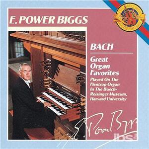 Great Organ Favorites - CD Audio di Johann Sebastian Bach