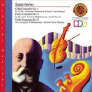 Cello Concerto 1 - Piano - CD Audio di Camille Saint-Saëns
