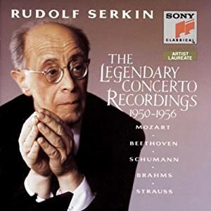 The Legendary Concerto Recordings 1950-1956 - CD Audio di Rudolf Serkin