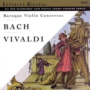 Concerti Barocchi per Violino - CD Audio di Johann Sebastian Bach,Antonio Vivaldi