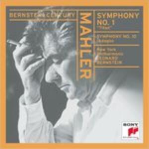 Symphony 1-Adagio for.. - CD Audio di Leonard Bernstein,Gustav Mahler,New York Philharmonic Orchestra