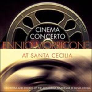 Cinema Concerto at (Colonna Sonora) - CD Audio di Ennio Morricone