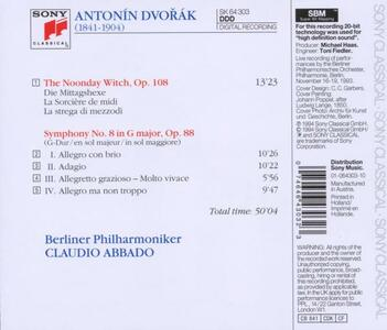 Sinfonia n.8 - CD Audio di Antonin Dvorak - 2